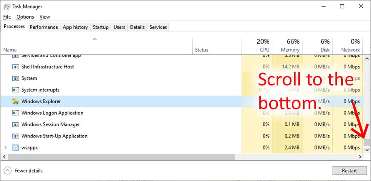 This instance of Windows Explorer