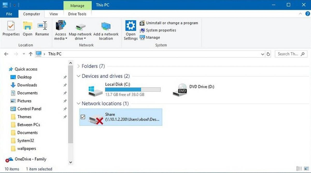 Mapped Network Drive Disconnects From Server